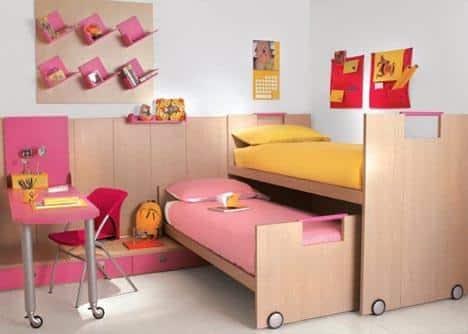Мебель для детской. Как обставить комнату?